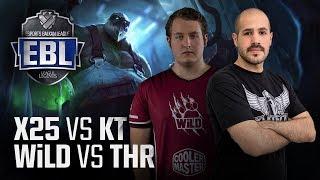 ebl lol x25 esports vs kliktech   wild coolermaster vs team horizon reapers   runda 7