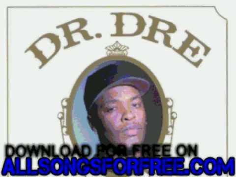 dr. dre - Nuthin' But A G Thang - The Chronic
