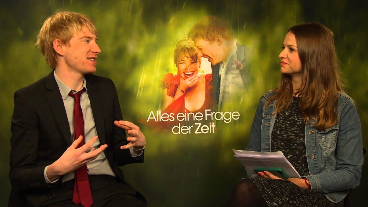 Domhnall Gleeson Interview Zu Alles Eine Frage Der Zeit About