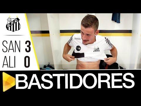 Santos 3 x 0 Aliança | BASTIDORES | Copa SP (05/01/18)
