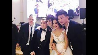 MBAND на свадьбе своего друга в Алматы