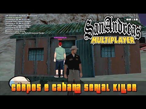 GTA San Andreas SAMP - Corpos,Serial Killer e Cidade Fantasma !