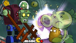 Plants Vs Zombies 2 Kung World: Far Future Crazy Dave Challenge Day 1 - day 3  (China IOS Version)