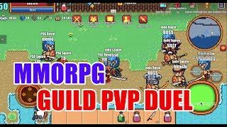Mobile MMORPG, Open World PvP YOU MUST play 2019 - Pixel Knights Online