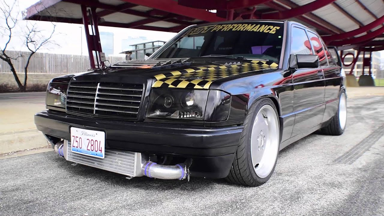 Turbo with Class - Greg's 1JZ Mercedes Benz