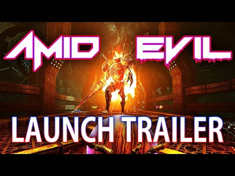 AMID EVIL - Launch Trailer
