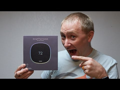 The NEW ecobee Smart Thermostat with Voice Control Review