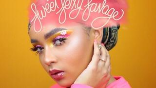 sweet sexy savage inspired makeup look   fleek by ahliyah