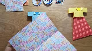 [종이접기] 이쁜재킷과 캉캉스커트 만들기 (fold p…