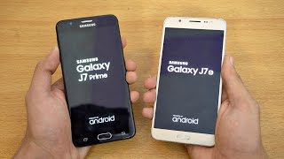 Samsung Galaxy J7 Prime vs J7 (2016) - Speed Test! (4K)
