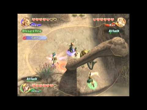 Let's Play Final Fantasy Crystal Chronicles co-op #19 Lynari Desert