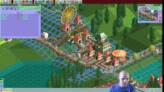 Rollercoaster Tycoon Scenario #17: Ivory Towers