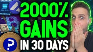 BEST POSSIBLE NEWS TRIĠGERS BITCOIN BREAKOUT! These coins will 20X in the next month!