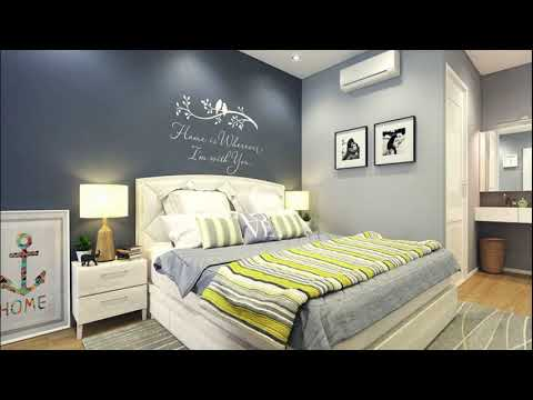 Best Bedroom Painting Color Contrast Interior Designs and Ideas 2020