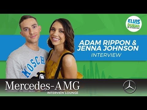 Adam Rippon and Jenna Johnson on Life After 'Dancing With the Stars' | Elvis Duran Show