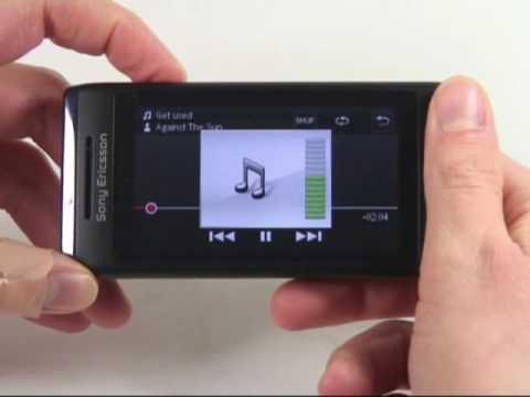 Sony-Ericsson Aino Test Musikplayer