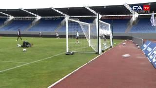 England U21 Shooting Practice | Iceland v England U21 Euro Championship 06/10/11