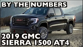 By the Numbers: 2019 GMC Sierra 1500 AT4  on Everyman Driver