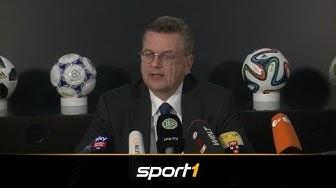 Nach Rücktritt als DFB-Präsident: Das komplette Statement von Reinhard Grindel | SPORT1