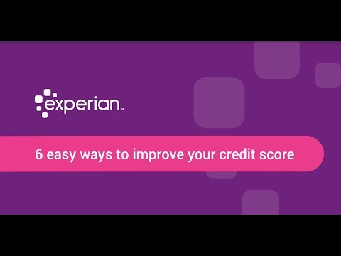 6 easy ways to improve your credit score