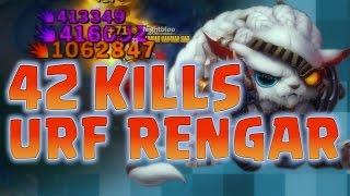 Nightblue3 - 42 KILLS URF 10 SECOND CD RENGAR ULTS