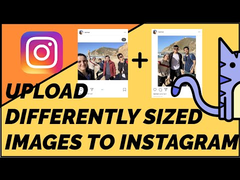 How to Upload Multiple Photos without Cropping to Instagram