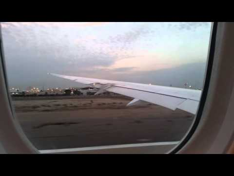 Qatar Airways take-off from Kuwait International Airport ᴴᴰ