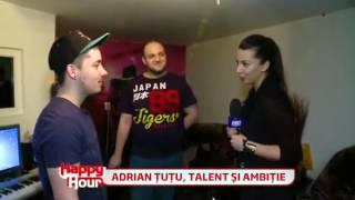 Adrian Tutu - Despre cariera sa muzicala ( Happy Hour 2013 )