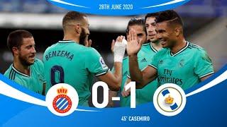 Real Madrid Vs Espanyol 1-0 Highlights & Goal 2020
