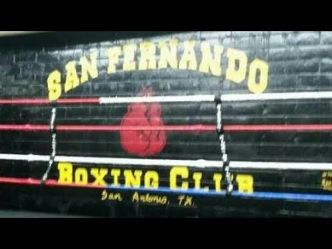 San Antonio Boxing San Fernando Boxing Gym sparring