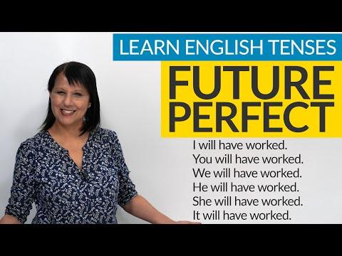 Learn English Tenses: FUTURE PERFECT