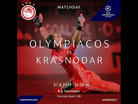 Olympiakos Piraeus Vs Krasnodar   Live Broadcast Listings TV   Live Streaming   Radio