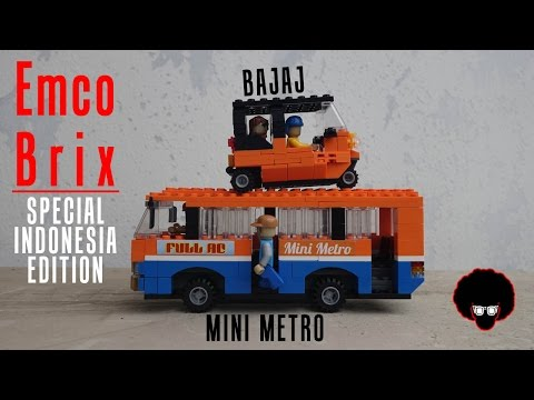 Review #52: Emco Brix Special Indonesia Edition Bajaj & Metro Mini
