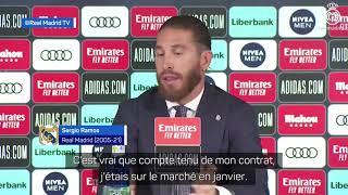 """Download 🗨️ """"Vous pouvez dormir tranquille, il est impossible de voir Sergio Ramos avec le maillot du Barça"""""""