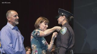 Police Academy members share memories of Davis Police Officer Natalie Corona