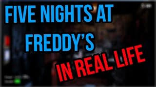 ☆ Five nights at Freddy's IN REAL LIFE [SKETCH] ☆ Video