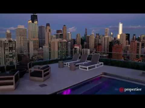 Old Town Park Penthouse - 1140 N Wells St | Chicago IL 60610
