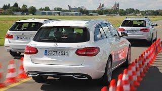 Mercedes C-Klasse T-Modell vs. BMW 3er Touring vs. Audi A4 Avant