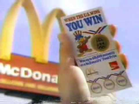 Mcdonalds Olympics Game Commercial