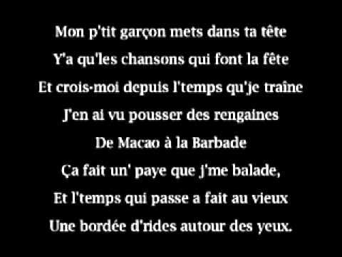 Michel Tonnerre   Mon petit Garçon karaoké