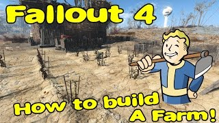 Fallout 4 | Basic Farming Guide / Tips and Tricks