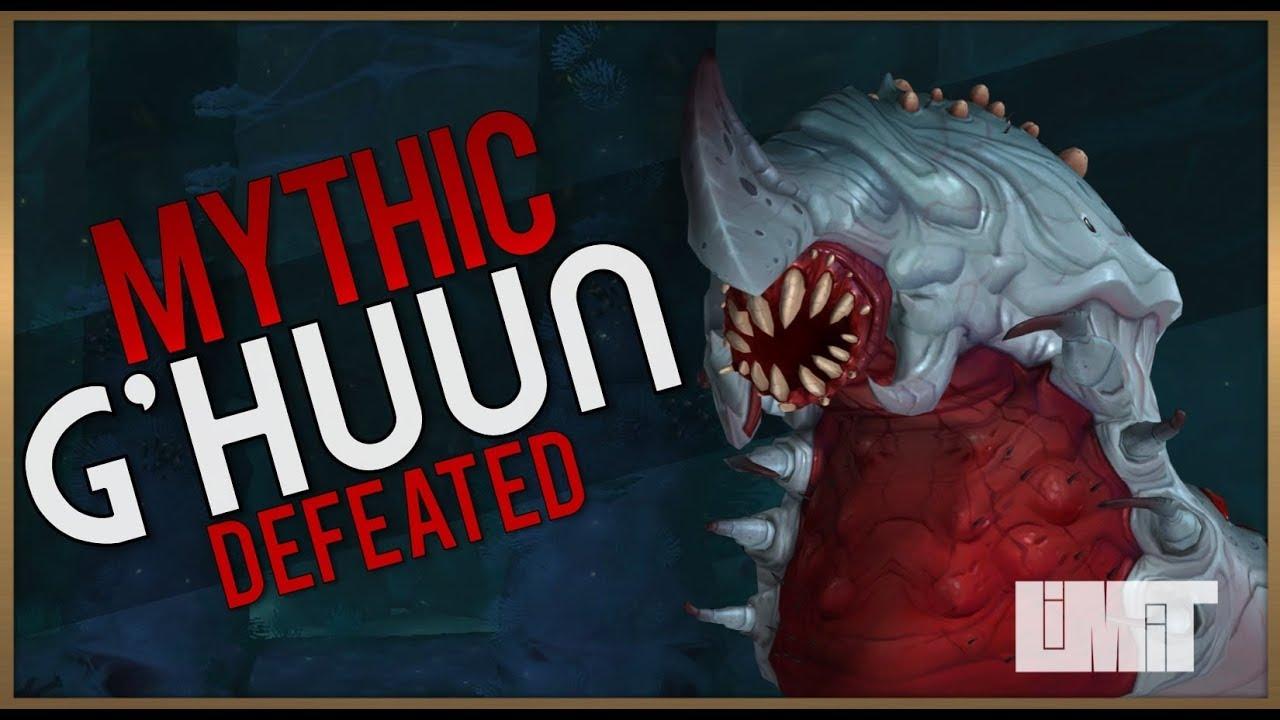 Limit vs. Mythic G'huun | Uldir, Halls of Control #1
