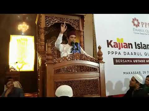 Full - Ceramah Ust Abdul Somad Lc MA - MAKASSAR 26 Agustus 2017