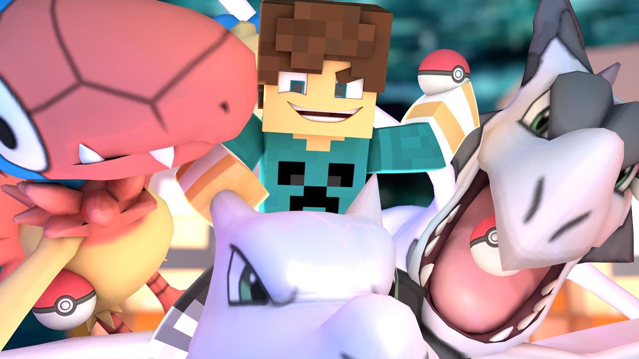 Minecraft: PokeRace - Pokemons Pré-Historicos ! #04 - YouTube
