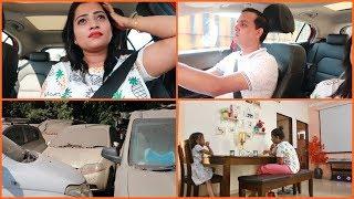 Ye hamari car ko kya ho gaya || Indian Mom on Duty Vlog