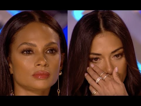 Shanaya Leaves Judges In TEARS With Her Rendition of  'Say Something' | Audition 1 | The X Factor UK