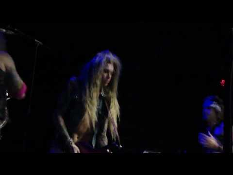 steel panther - hair solo @ Rams Head Live