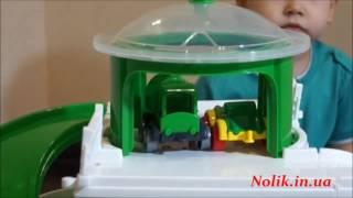 Обзор: детский гараж 4 уровня паркинг для машинок, Wader 50410