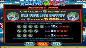 The 7 sultans Online Casino Games:  Polar Bash Video slot