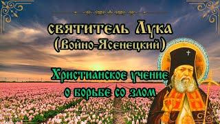Христианское учение о борьбе со злом. Святитель Лука (Войно-Ясенецкий)